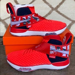 NIKE AIR ZOOM UNVERS FLYEASE UNIVERSITY RED/WHITE
